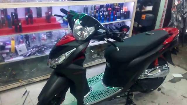 Lắp chống trộm xe máy Honda Vision