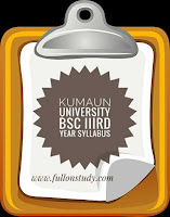 KU Bsc IIIrd Year Complete Syllabus Download (pdf)
