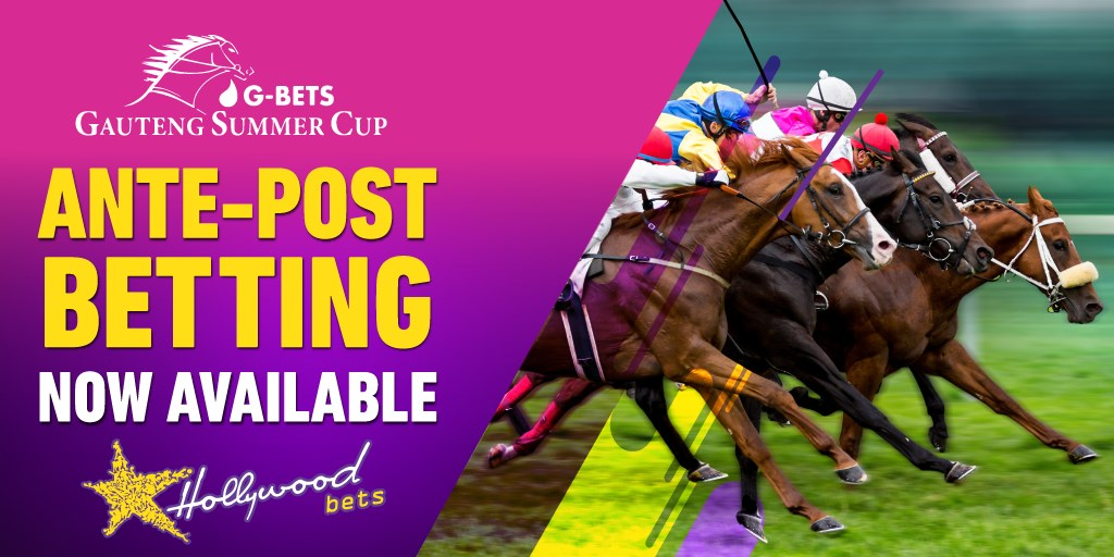 Ante-Post Betting - G-Bets Gauteng Summer Cup - Hollywoodbets