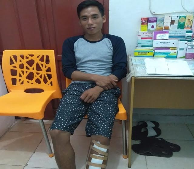 Martinus, Selamat dari KKB Nduga Papua, Hingga Kini Serpihan Peluru Masih Bersarang di Lengannya