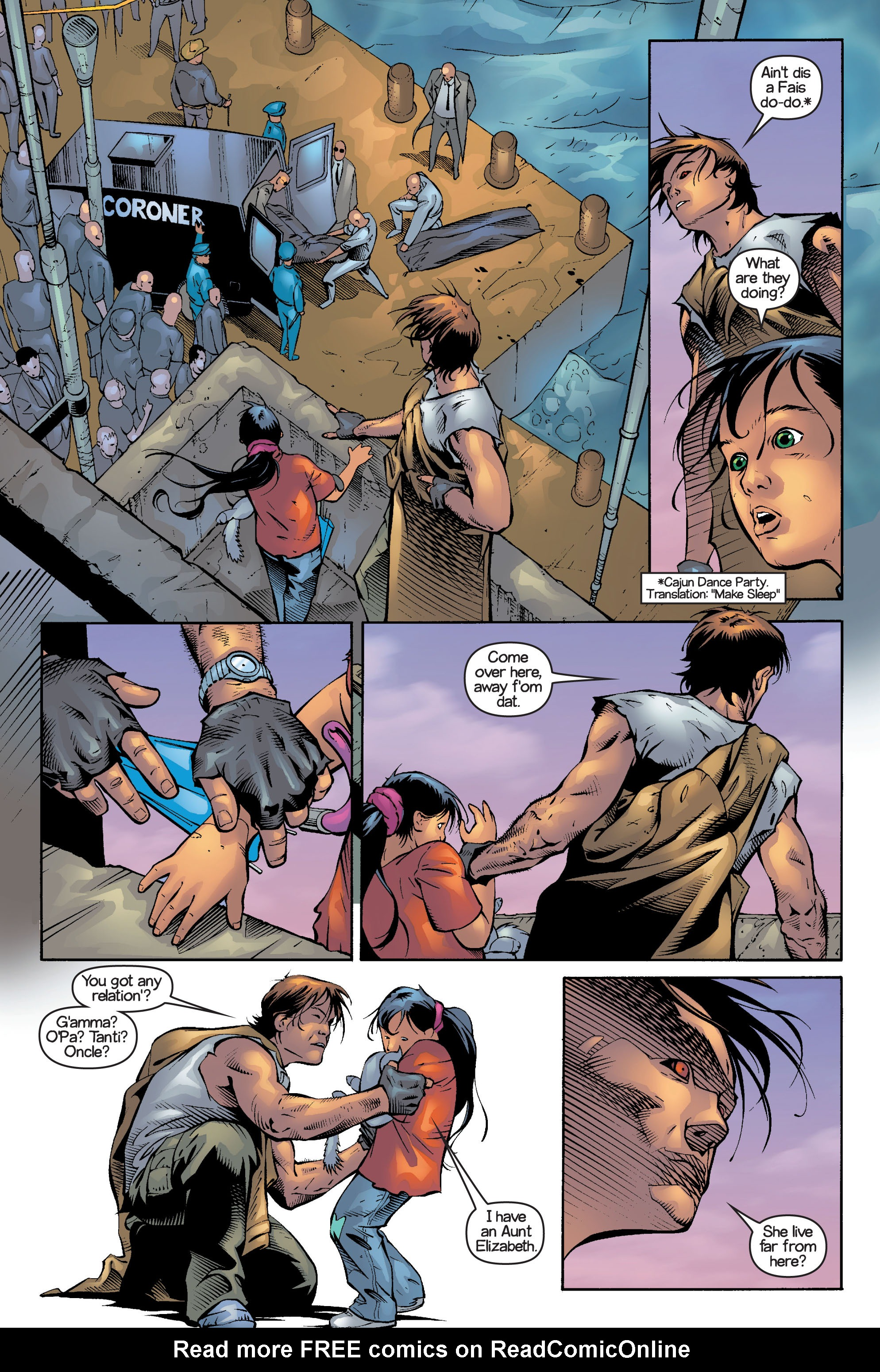 Read online Ultimate X-Men comic -  Issue #13 - 14