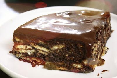 Cara Buat Kek Batik Terbaik Dan Rangup Sukatan Cawan