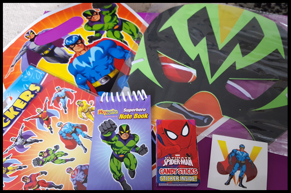 Superhero Pre-filled Party Bag - 90p