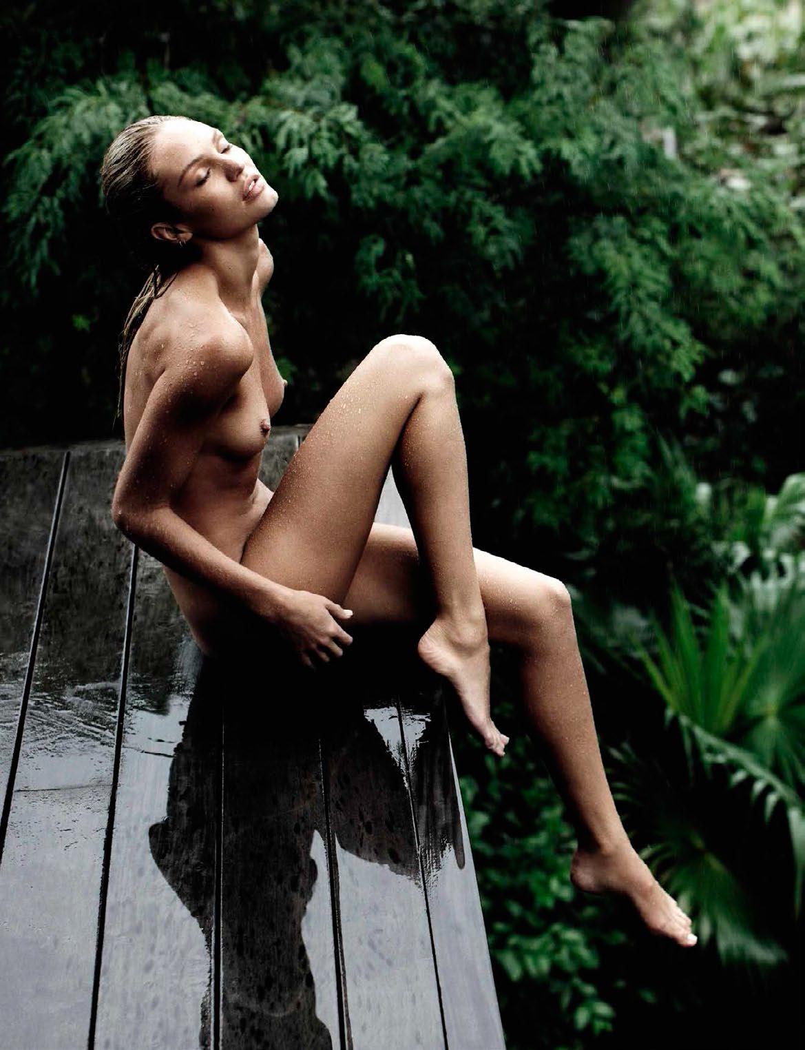 Candice Swanepoel for Vogue España July 2016