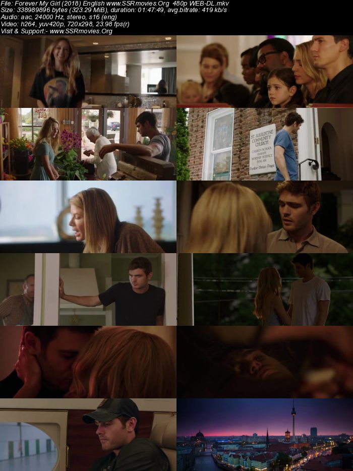 Forever My Girl (2018) English 480p WEB-DL
