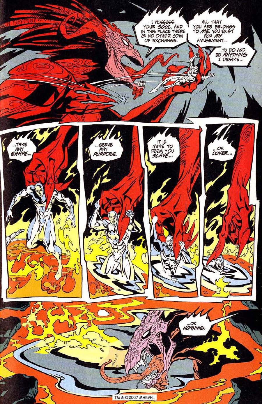 Read online Silver Surfer (1987) comic -  Issue #100 - 19