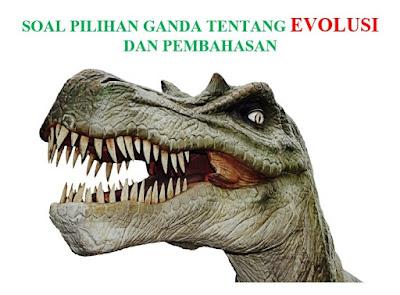 Soal Pilihan Ganda Tentang Evolusi Pembahasan