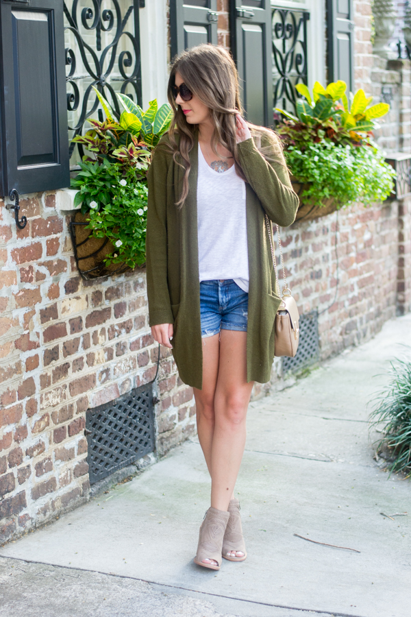 Transition Outfit Into Fall | Chasing Cinderella