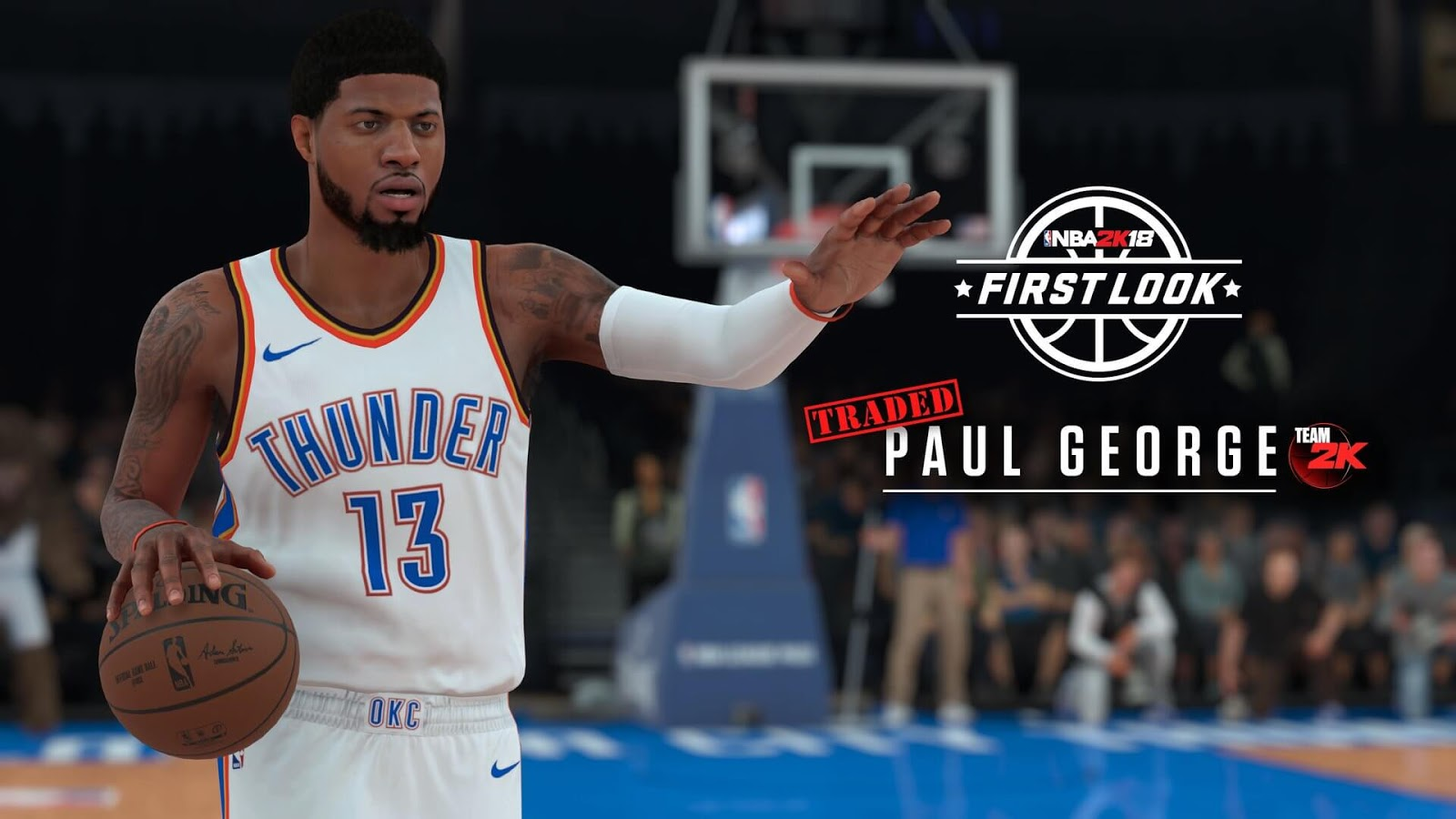 NBA 2k18 Paul George (OKC Thunder) Screenshot