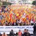 Mles de valencianos se manifiestan por España y contra el separatismo