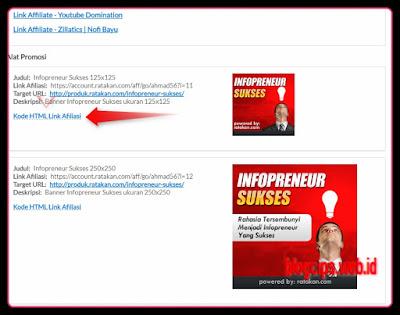 bagaimana cara mengakses fasilitas promosi di situs marketplace ratakan
