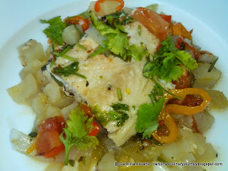 Tuna Fish with Vegetables