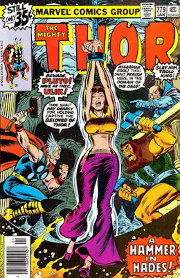 Thor #279, Pluto, Ulik and Jane Foster