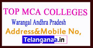 Top MCA Colleges in Warangal Andhra Pradesh