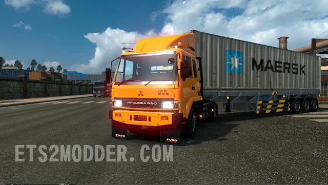 Mod Truck FUSO FN HT - Mod ETS2 Indonesia
