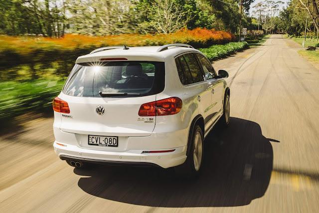 VW Tiguan 2016 - recall