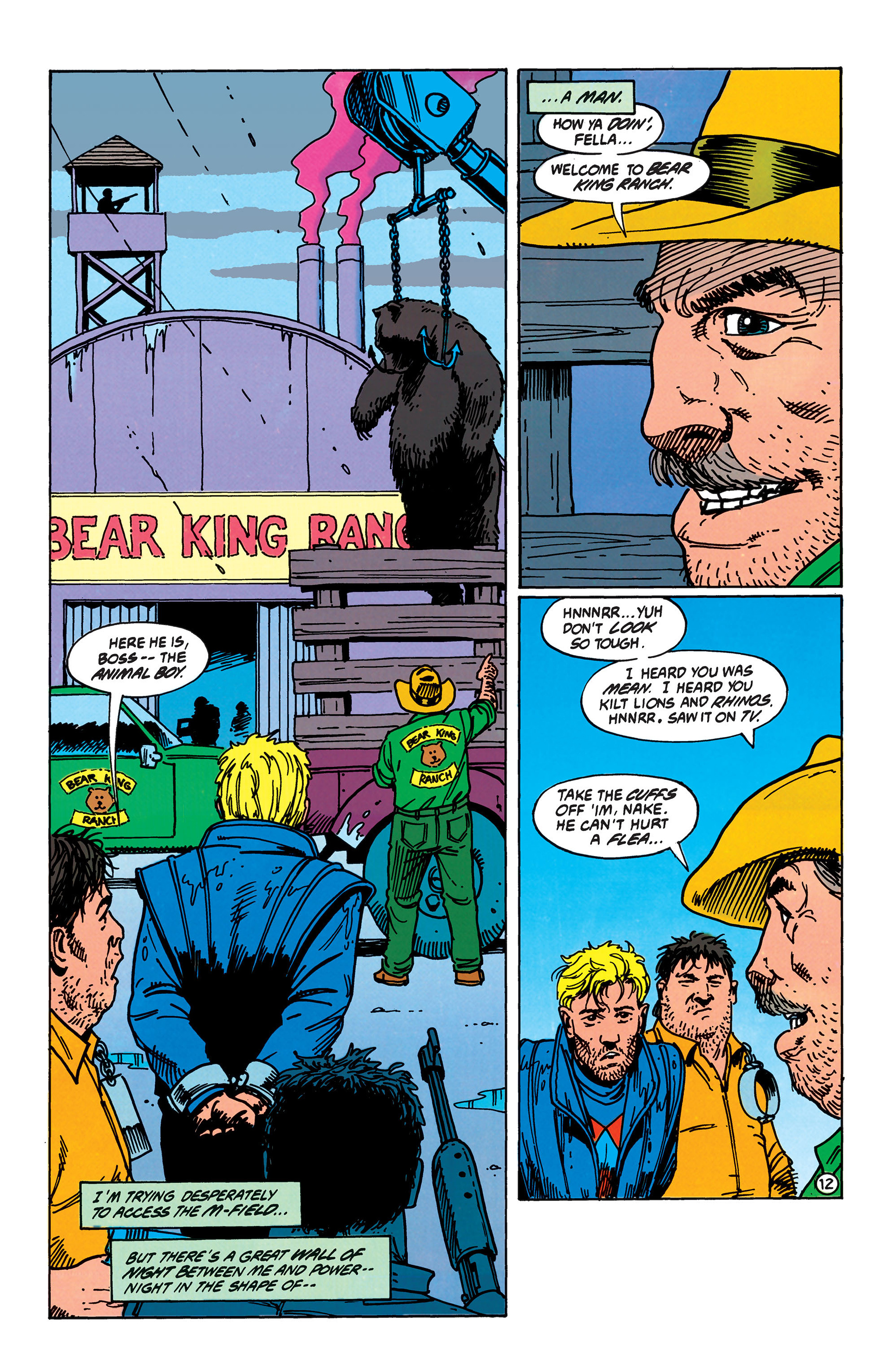 Read online Animal Man (1988) comic -  Issue #40 - 13