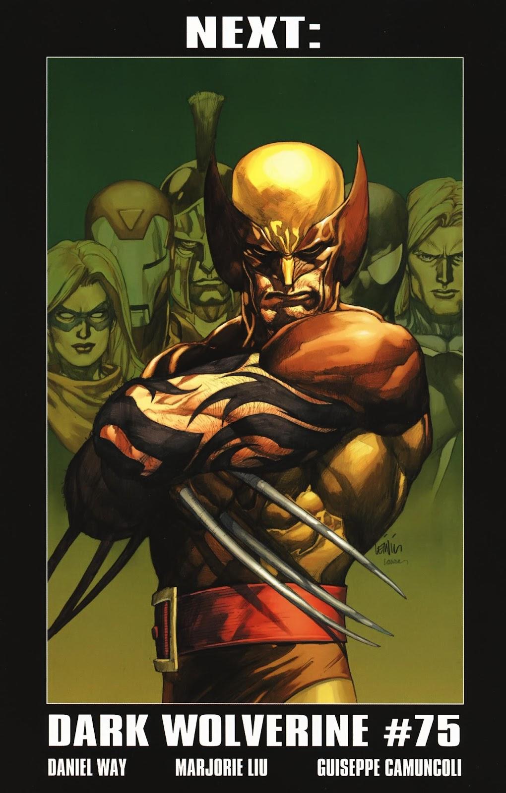 Read online Wolverine (2003) comic -  Issue #74 - 23