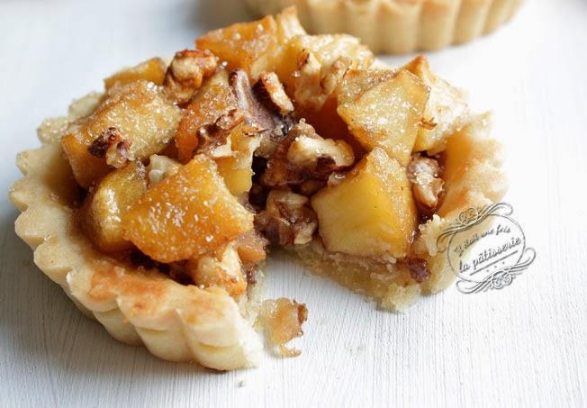 tarte pommes poires