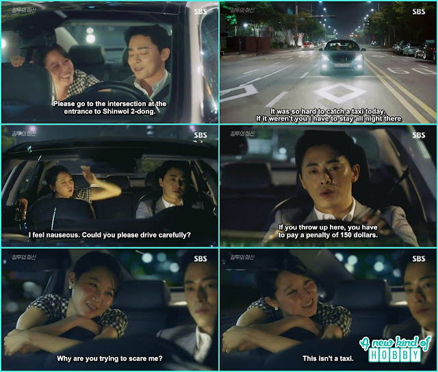 na ri sit in hwa shin car thinking its a taxi  - Jealousy Incarnate - Episode 3 Review - Hospital Encounter