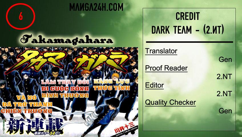 Takamagahara chap 6 trang 1