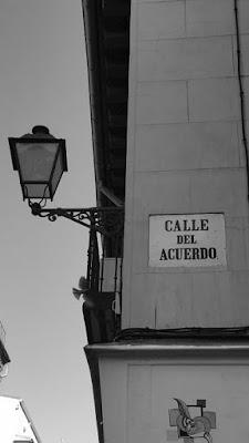 calle Acuerdo Madrid, microrrelato, Marieta Pancheva