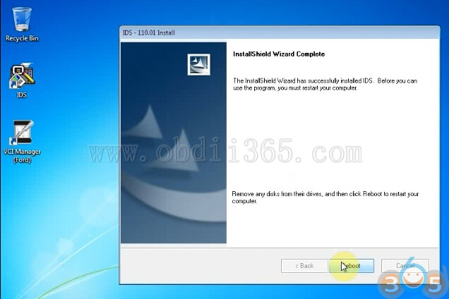 How to install Ford IDS V110 software for FVDI J2534 - OBD2