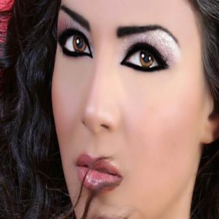 Fotos de maquiagem para a noite
