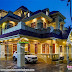 Superb work completed Colonial house architecture