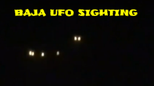 Ensenada, Baja Norte Mexico UFO sighting that's epic in size.