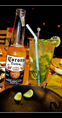 Corona and Ultimate Mojito