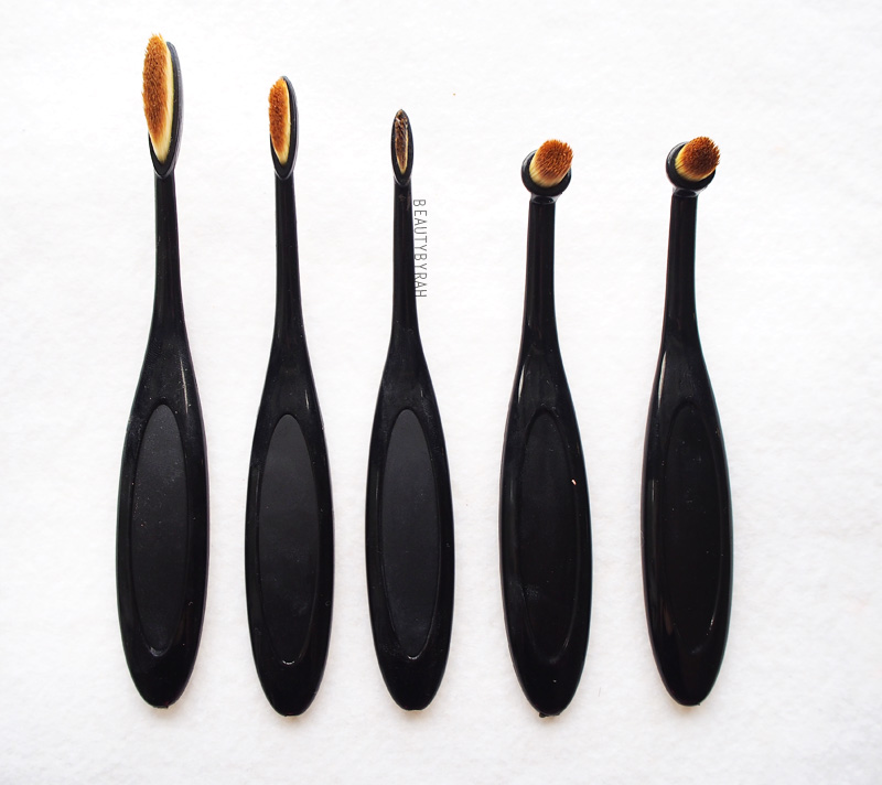 eBay Affordable Artis Brush Dupe Oval Brushes