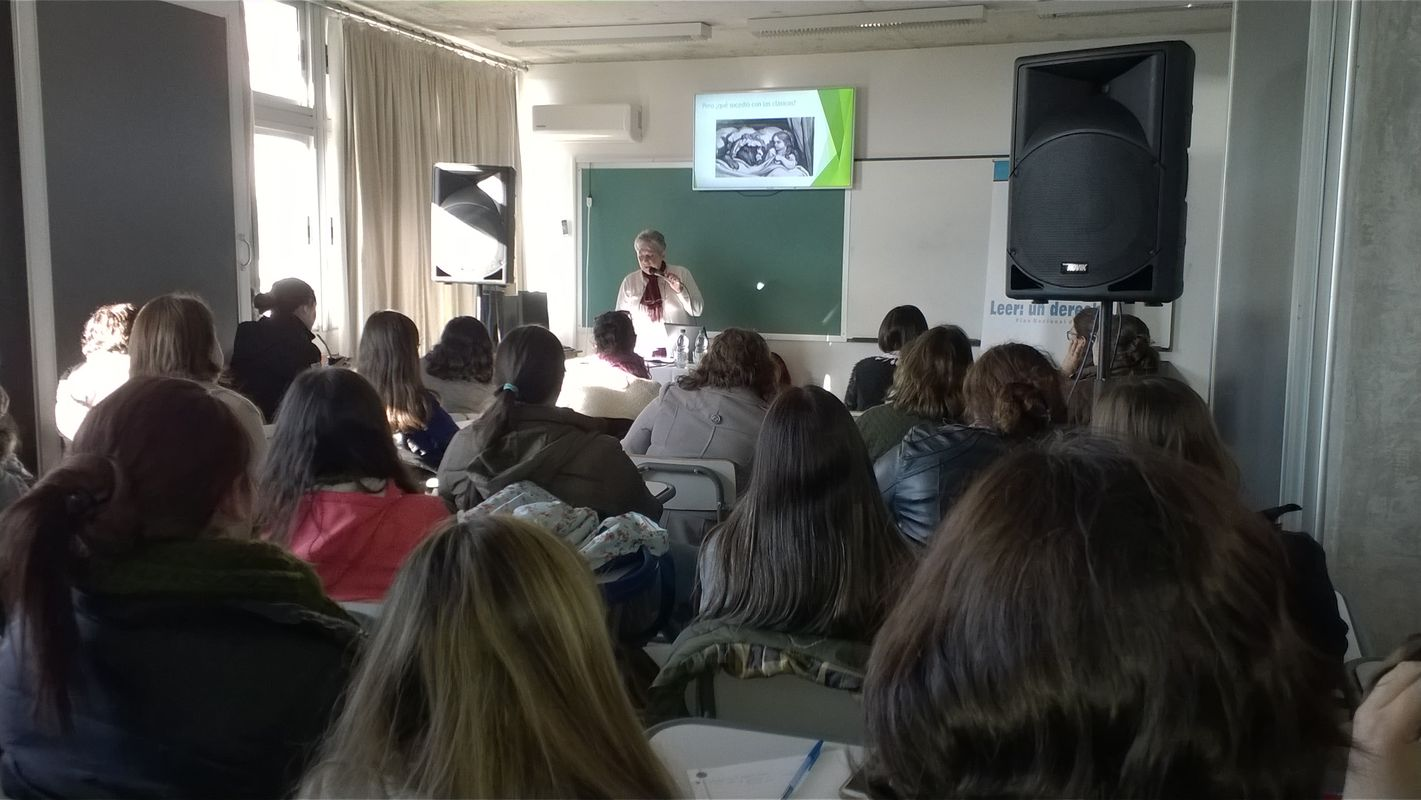 Instituto de formaci n docente el g nero en la literatura for Instituto formacion docente