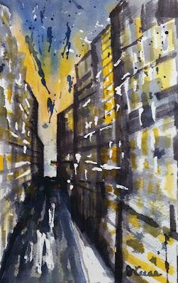 Abstract Realism - Big City - John Keese