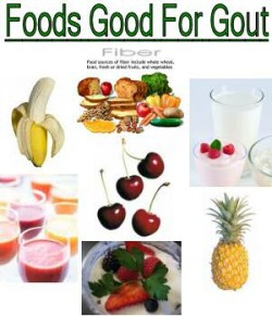 Foods That Help You Get Rid Of Gout