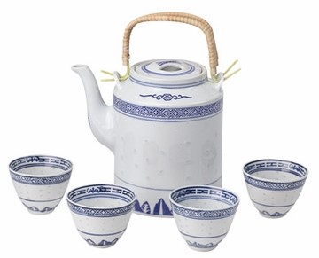 Coming soon here: Classical Blue & White Chinese Restaurant Tea Set