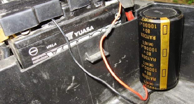 Membuat Alat Pengirit BBM Sepeda Motor, dan Juga Baterainya Ikut Irit