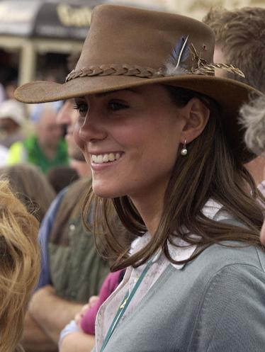 251137ec Kate's leather cowboy hat has become an iconic look even inspiring Ralph  Lauren for spring/summer 2011. While there are numerous leather bush hats  out there ...