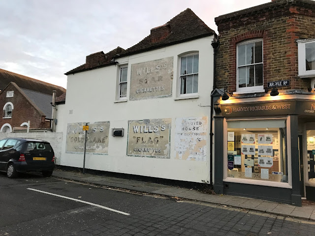 Ghost signs, Whitstable, Kent