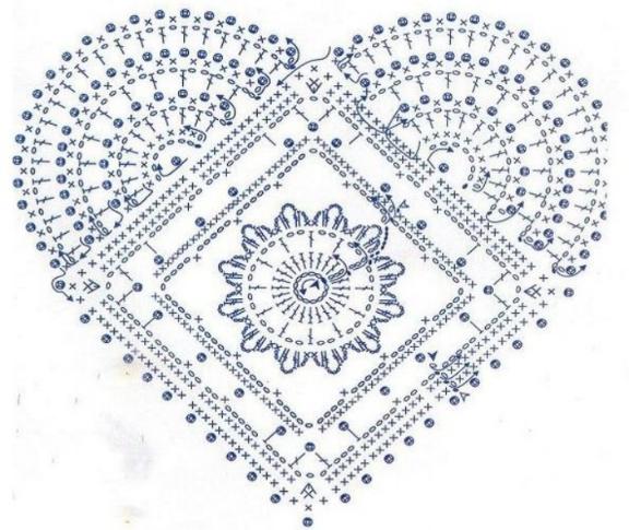 Kleine Sammlung Herzlicher Anleitungen Chrochet Pattern