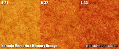 Césped Naranja Mercurio