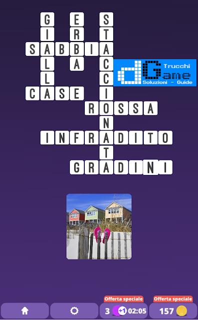 Soluzioni One Clue Crossword livello 20 schemi 13 (Cruciverba illustrato)  | Parole e foto