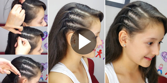 Hair DIY - How To Create Celebrity Inspired Braids Hairstyle, See Tutorial