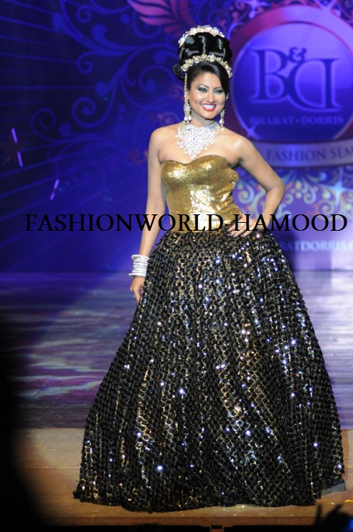 Bharat and Dorris Bridal Fashion Show 2012
