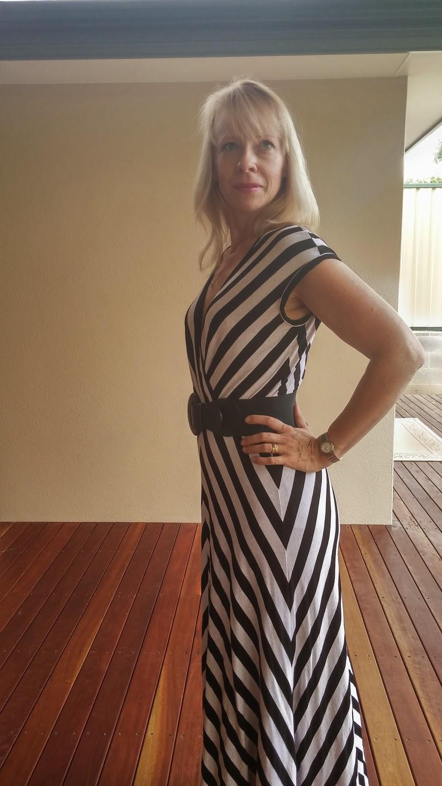 Vogue 1027 with quarter circle maxi skirt