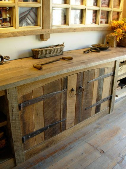 Free DIY Cabinet & Furniture Designs Ideas Using Reclaimed Pallet ...