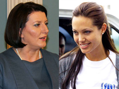 Eralda Hitaj Shtatzane Jahjaga fton Angelina Jolie ne