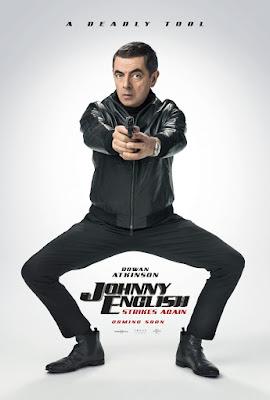 Johnny English Strikes Again Movie Poster 1