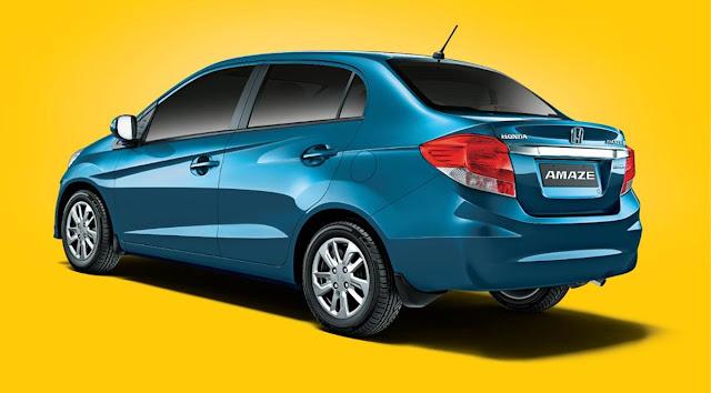 Honda Amaze side view Blue hd wallpaper