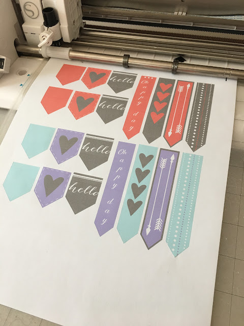 silhouette print and cut, silhouette cameo print and cut, silhouette camaeo sticker tutorial